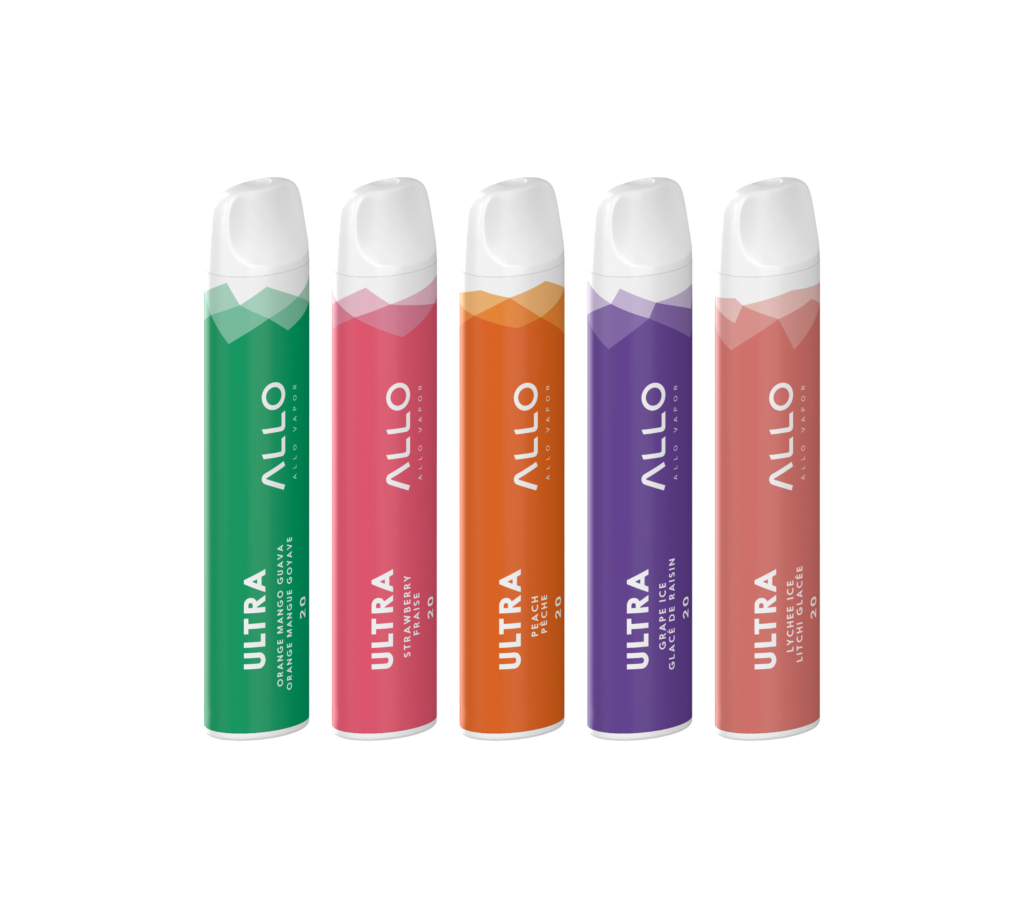 Allo Ultra ECig by Allo Vapor Review - Disposable Vape With Up To 800 Puffs